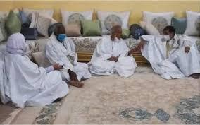 قادة من المعارضة في لقاء مع رئيس التحالف مسعود ولد بلخير