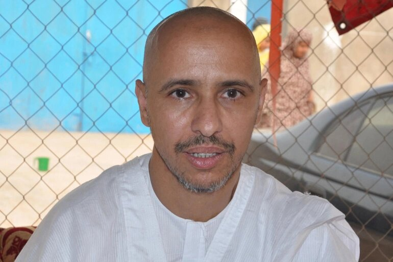 محمدو ولد صلاحي المعتقل الموريتاني السابق في سجن غوانتامو