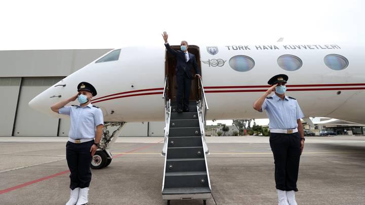 خلوصي أكار في جزيرة صقلية قبيل توجهه إلى ليبيا