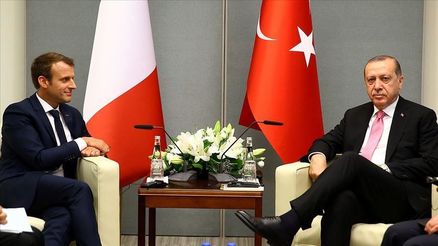 سبق لأردوغان أن نصح ماكرون بمراجعة طبيب عقلي