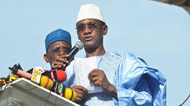 رئيس الحكومة الانتقالية بمالي، تشوغويل مايغا.