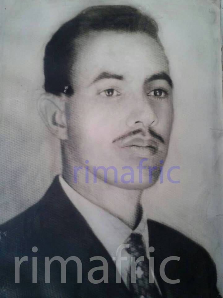 صورة خاصة للمرحوم محمد محفوظ ولد محمد الأمين أثناء دراسته في المغرب