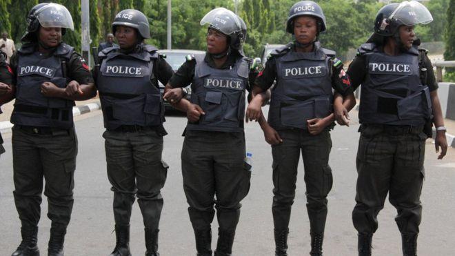 عناصر من الشرطة النيجيرية