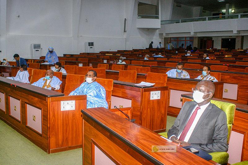 وزير الشؤون الاقتصادية وترقية القطاعات الإنتاجية عثمان مامودو كان خلال جلسة البرلمان