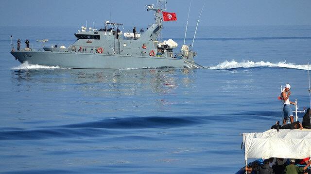 تمت العملية في البحر المتوسط قبالة سواحل مدينة بنقردان الحدودية مع ليبيا