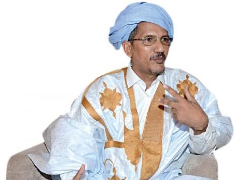 رئيس الحزب محمد ولد أحمد سالم