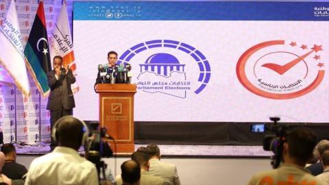 رئيس المفوضية العليا للانتخابات الليبية عماد السايح