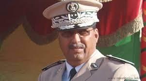 الجنرال عبد الله ولد أحمد عيشه قائد الدرك الموريتاني
