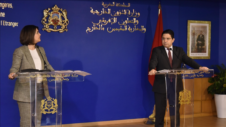 المؤتمر الصحفي بين وزير الخارجية المغربي، ونظيرته الليبية، التي تجري زيارة للرباط، تستمر يوما واحدا