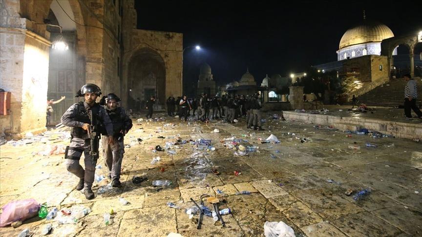 تشهد مدينة القدس منذ بداية شهر رمضان اعتداءات متكررة من الاحتلال الصهيوني